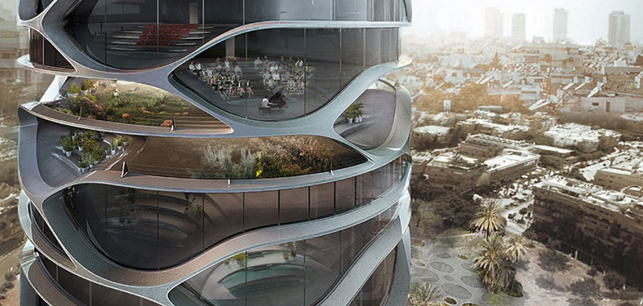 091e18119e David Tajchman Conceives Topological Gran Mediterraneo Tower For Tel AVIV