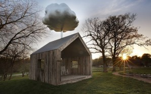 Cloud House: Reclaimed Wood Shed Harvests Rainwater to Create Artificial…