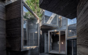 Micro Hostel with Tiny Concrete Rooms Installed by Zhang Ke…