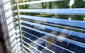 Solar Gaps Blinds Generate Solar Electricity while Shading your Windows