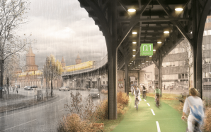 A City-Wide Bike Lane That Wants to Be a 'Piece…