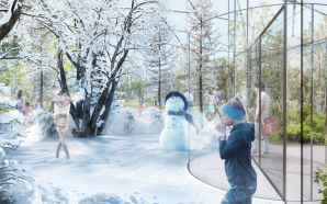 All four seasons coexist in Milan garden proposed by Carlo…