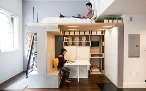 Living Large in a Tight Space: Domino Loft in San…