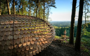 This Sculptural Shelter Is A Place To Enjoy Quiet And…