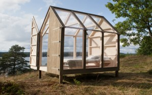 Sweden Built Glass Cabins for Five Stressed-Out Foreigners in Its…