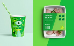 This Grocery Store Branding And Packaging Aims To Reinforce Freshness