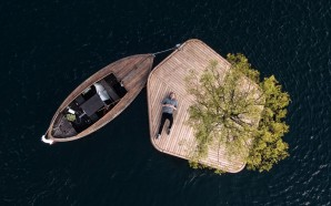 Floating Island By Marshall Blecher And Fokstrot Floats Around Copenhagen's…