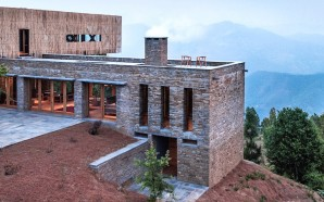 Soak In Views Of The Indian Himalayas At This Bamboo-Clad…