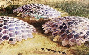 These Beautiful Desert Biodomes Will Be 100% Self-Sustaining