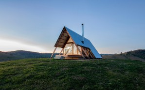Remote Hut Offers Holidaymakers Vistas Over The Kimo Valley