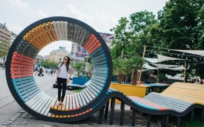 Solar-Powered Pop-Up Park Takes Over Underused Budapest Square