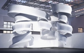 Kengo Kuma Artfully Tackles Air Pollution with Huge Origami Sculpture